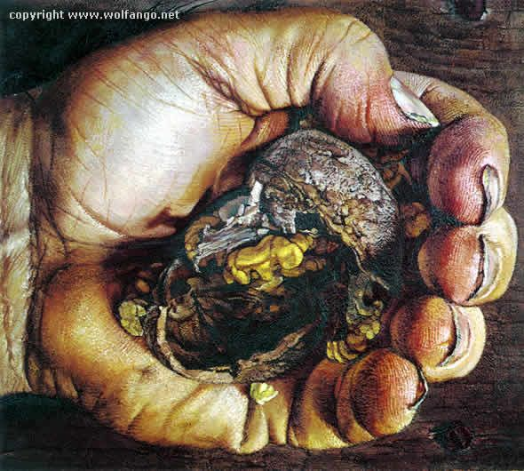 La mano del contadino