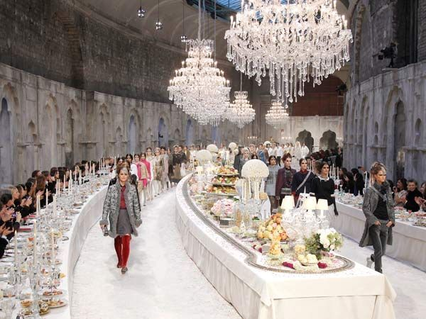 "Wedding reception idea: Collection ""A Fantastical Idea of India ""by Karl Lagerfeld, 2012 #celebstylewed @celebstylewed"