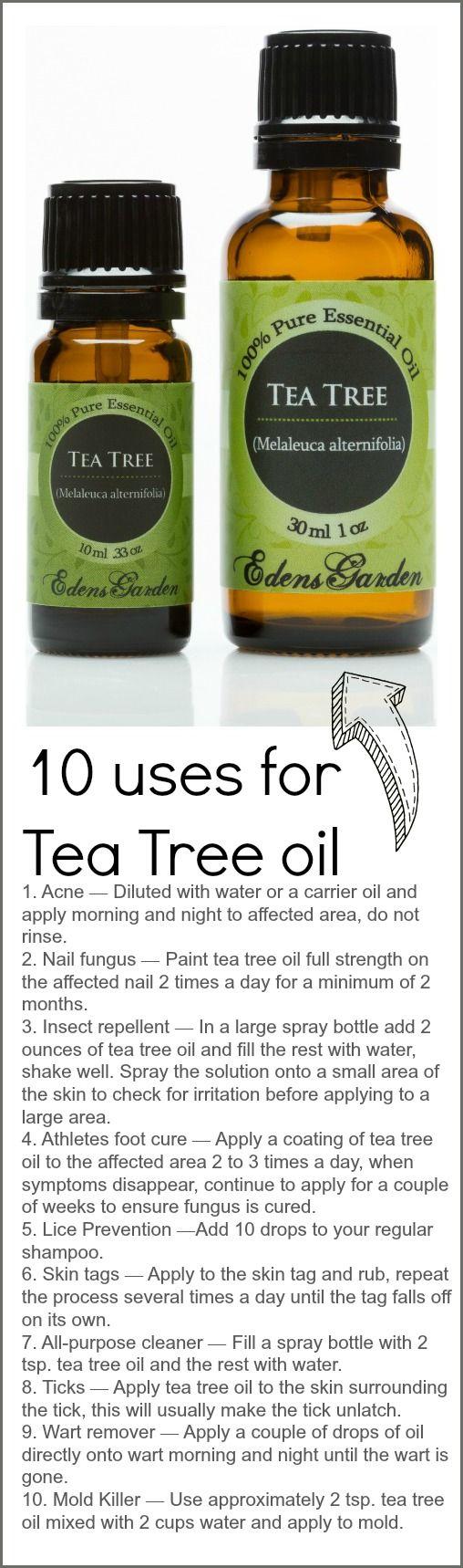 10 Uses For Tea Tree Oil