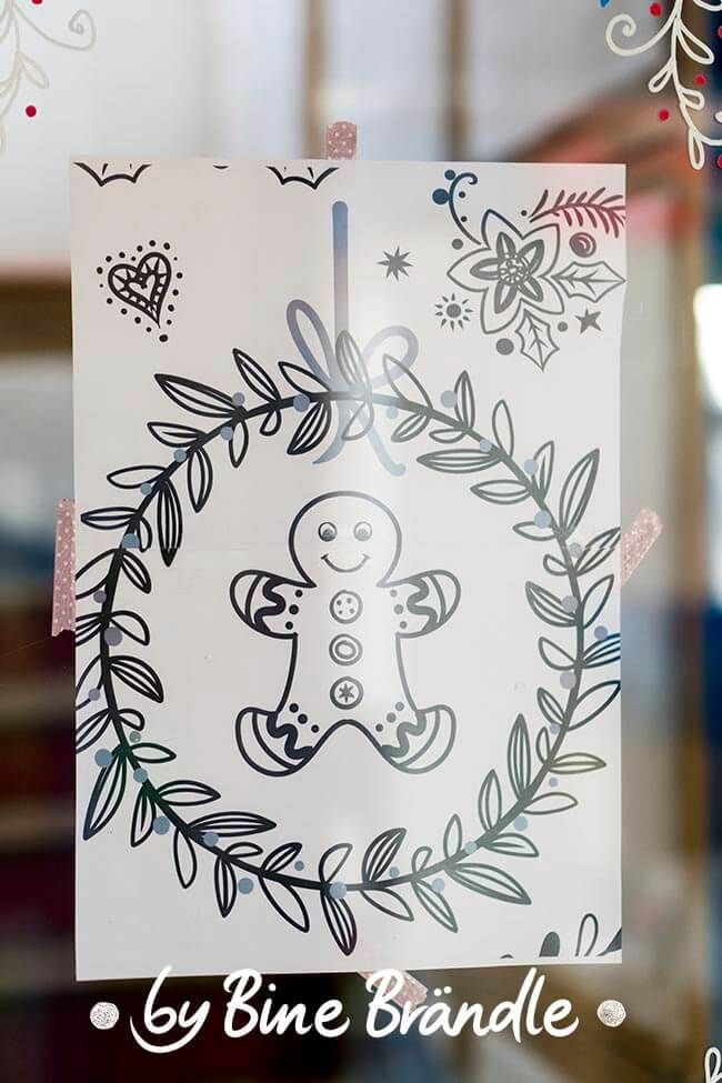 Vorlagenmappe Xxl Mappe Bine Brandle Schablonen Weihnachten Weihnachten Vorlagen Fensterbilder Weihnachten