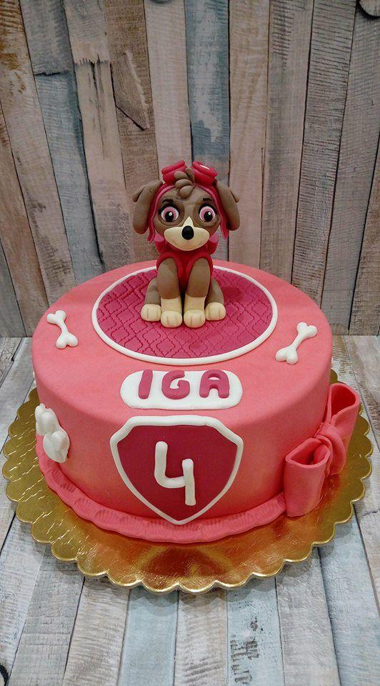 Tort Psi Patrol - Skye