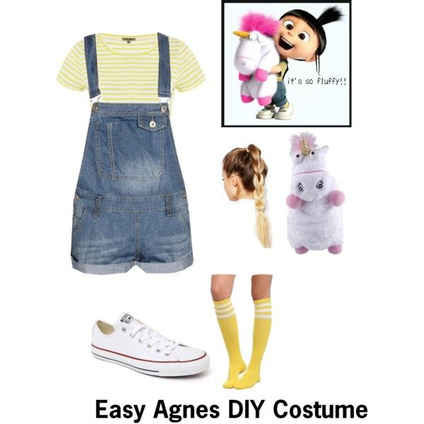 Best 25 diy disney costumes ideas on pinterest disney costumes agnes from despicable me diy costume polyvore solutioingenieria Gallery