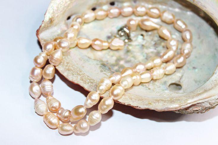 Naszyjnik Perła Słodkowodna - ELMAR0 - Naszyjniki z pereł