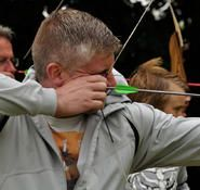 Portable archery equipment for hire. Our portable archery equipment can be hired worldwide.