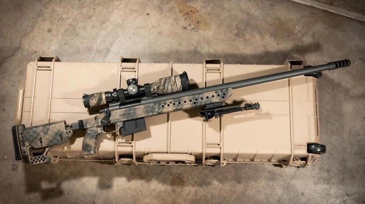 Custom Remington 700 in .300 Win Mag [OC] [2001x1125]