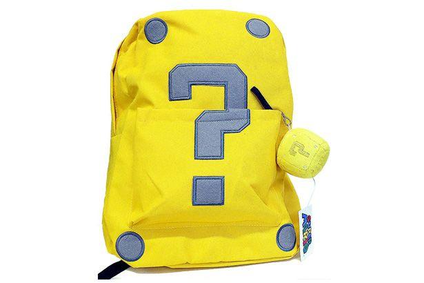 Simpáticas mochilas de personajes de Super Mario Bros
