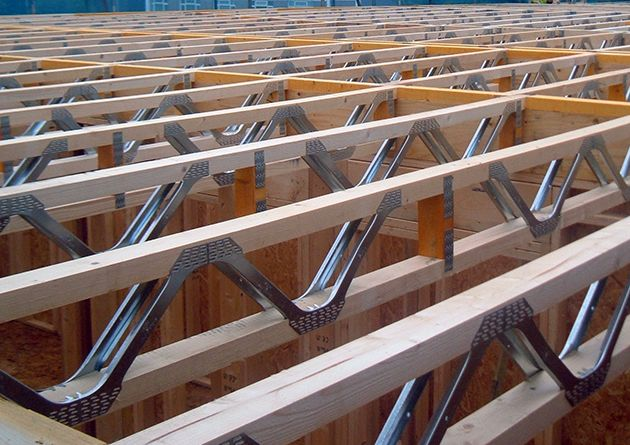 Wood Trusses With Toothed Plate Connectors Are Bdcs In