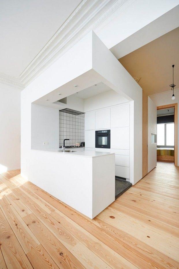 Rénovation d'un appartement de 75 m2 par AUXAU - Journal du Design