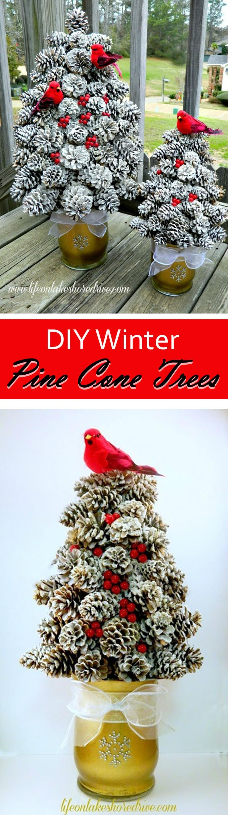 362 best Christmas Home Decor images on Pinterest