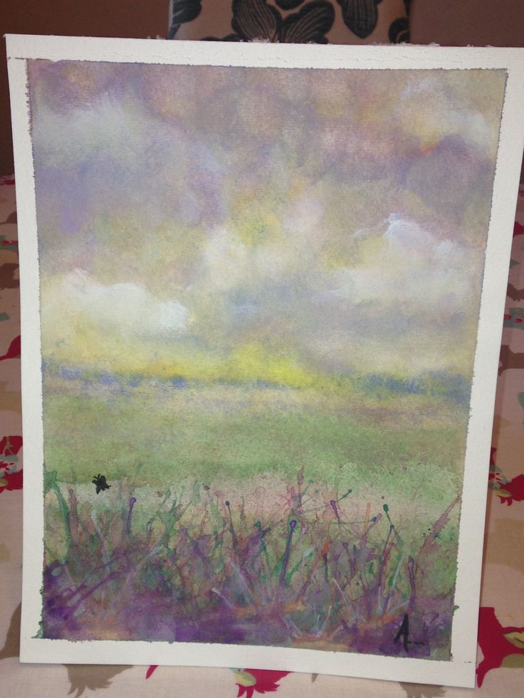 Watercolour meadows