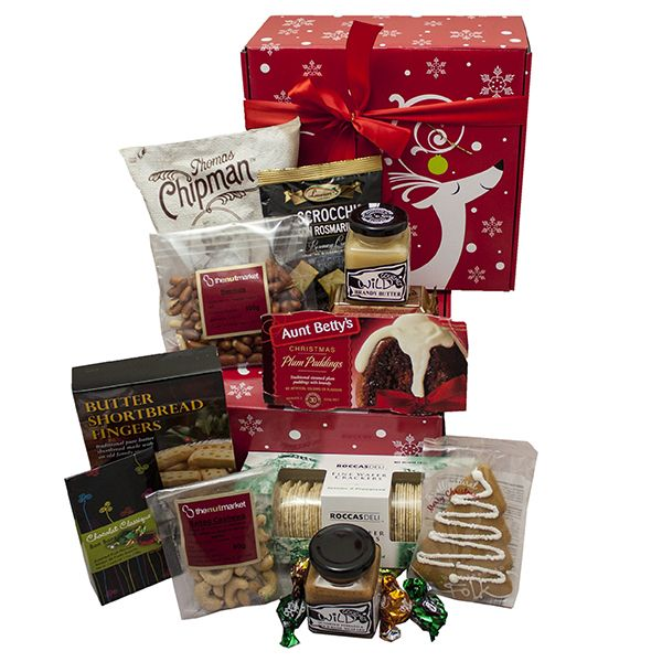 Gourmet Delight Xmas Hamper - $89 delivered! Found here: http://www.rainbowdesigns.com.au/products/gourmet-delight-xmas-hamper