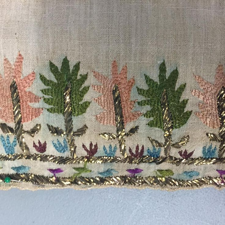 Turkish embroidery textile. contact: info@antiquetextilesgalleries.com more info…