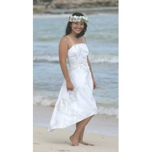 Princess Kinau Hawaiian Beach Wedding Dress (Apparel)  http://balanceddiet.me.uk/lushstuff.php?p=B0010EDHUA  B0010EDHUA