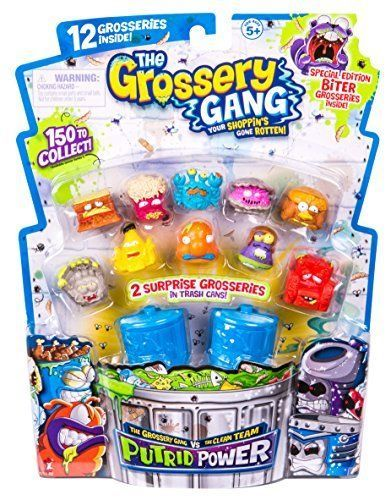 3 Large Pack Grossery Gang Playsets Putrid Power Season #GrosseryGang