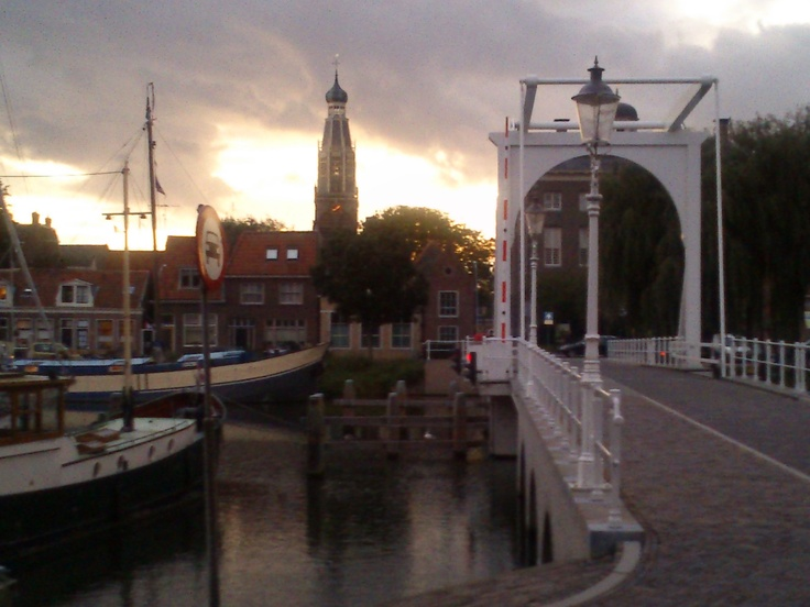Enkhuizen, was an important seaport from 14th-18th Centuries. Still has its medieval shape.
