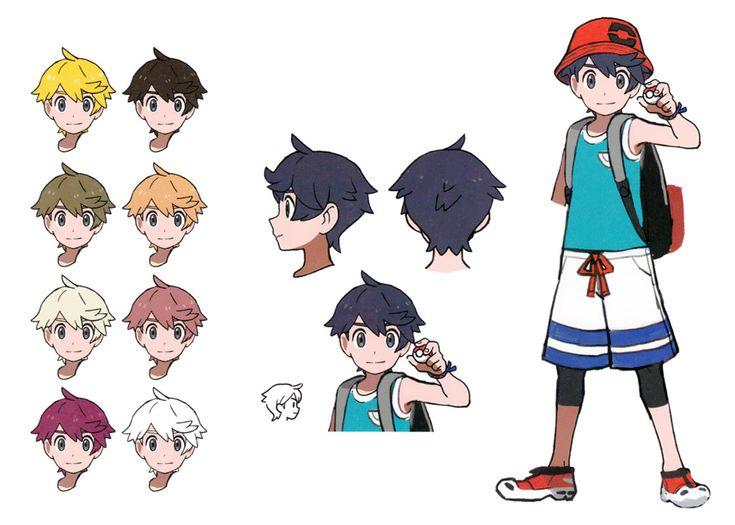 Elio Concept Art From Pokemon Ultra Sun And Ultra Moon Art Artwork Gaming Videogames Gamer Gameart Concep Pokemon Art Pokemon Characters Pokemon Fan Art