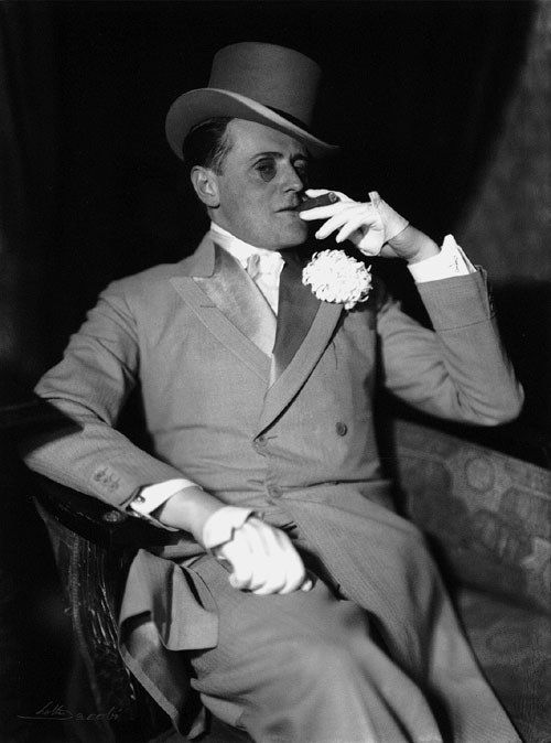 """Hans Heinrich von Twardowski, 1932 by Lotte Jacobi (German 1896-1990).....German film actor who made his first film appearance in the 1920 Robert Wiene-directed film """"Das Cabinet des Dr. Caligari"""" . He would go on to appear in over 20 movies in Weimar Germany during the 1920s. He fled germany and the Nazi's in 1933....."""