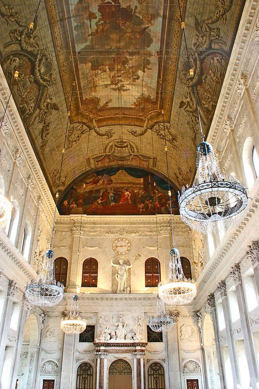 Interior Del Palacio Real De Msterdam Holanda Palacios