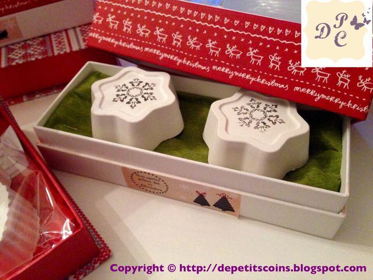 Gessi profumati in confezione natalizia-  Scented Chalksin Christmas packaging