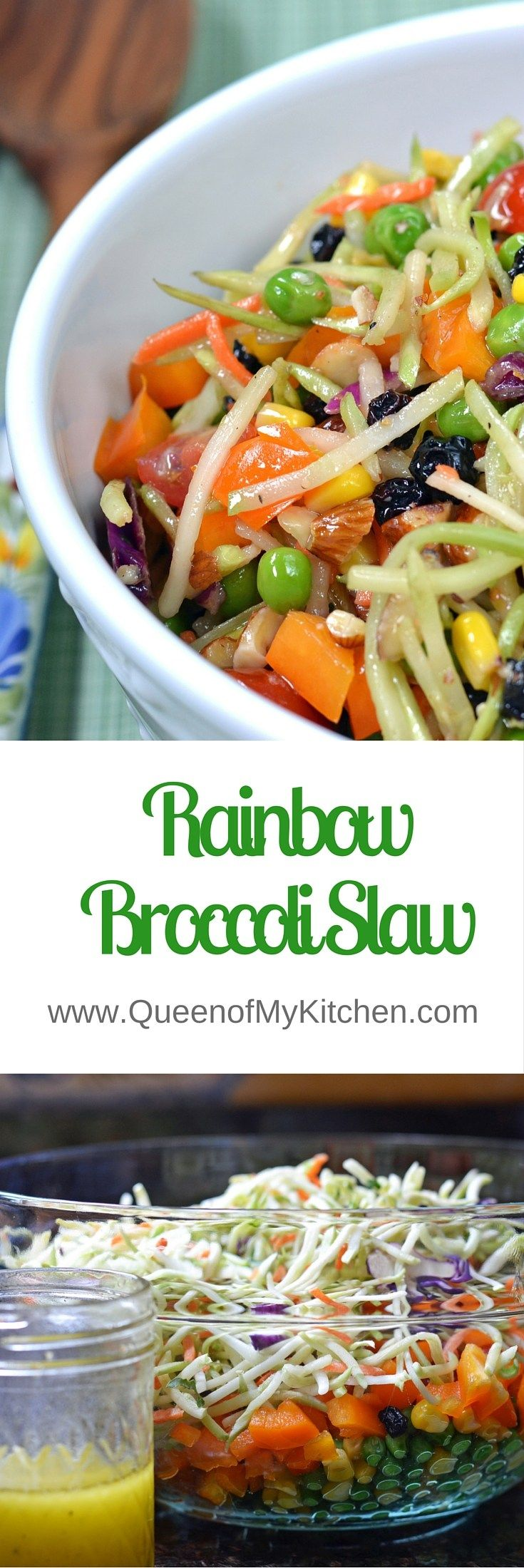 ... Slaw Salad on Pinterest | Asian Broccoli Slaw, Salad and Main Courses