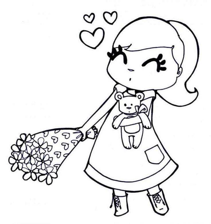 coloring pages for girls preschool - Friendship Coloring Pages For Preschool
