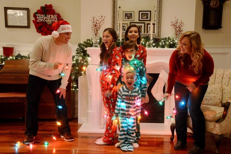 My family nailed it! Thank you, Pinterest, for the great Christmas photo idea! :)