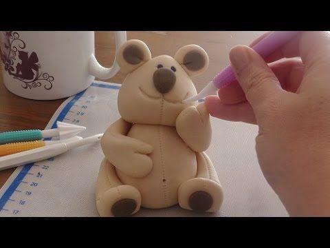 3D Fondant Teddy Bär/Tutorial/How to make a Fondant Teddy Bear