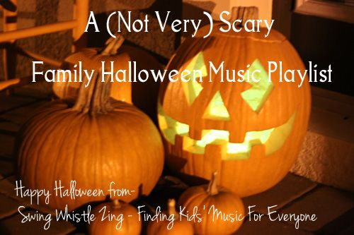 A (Not Very) Scary Playlist :: Halloween Music for Kids from Swing Whistle Zing