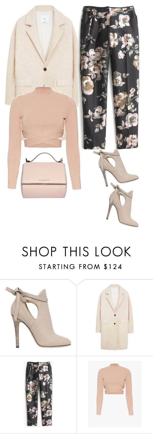 """""""Untitled #1053"""" by ladygroovenyc ❤ liked on Polyvore featuring Jimmy Choo, MANGO, J.Crew, Jonathan Simkhai and Givenchy"""