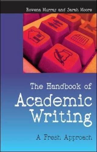 The handbook of academic writing - 151.95 MUR on line