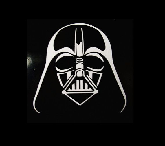 Star Wars Darth Vader Vinyl Decal Sticker Vader Stickers