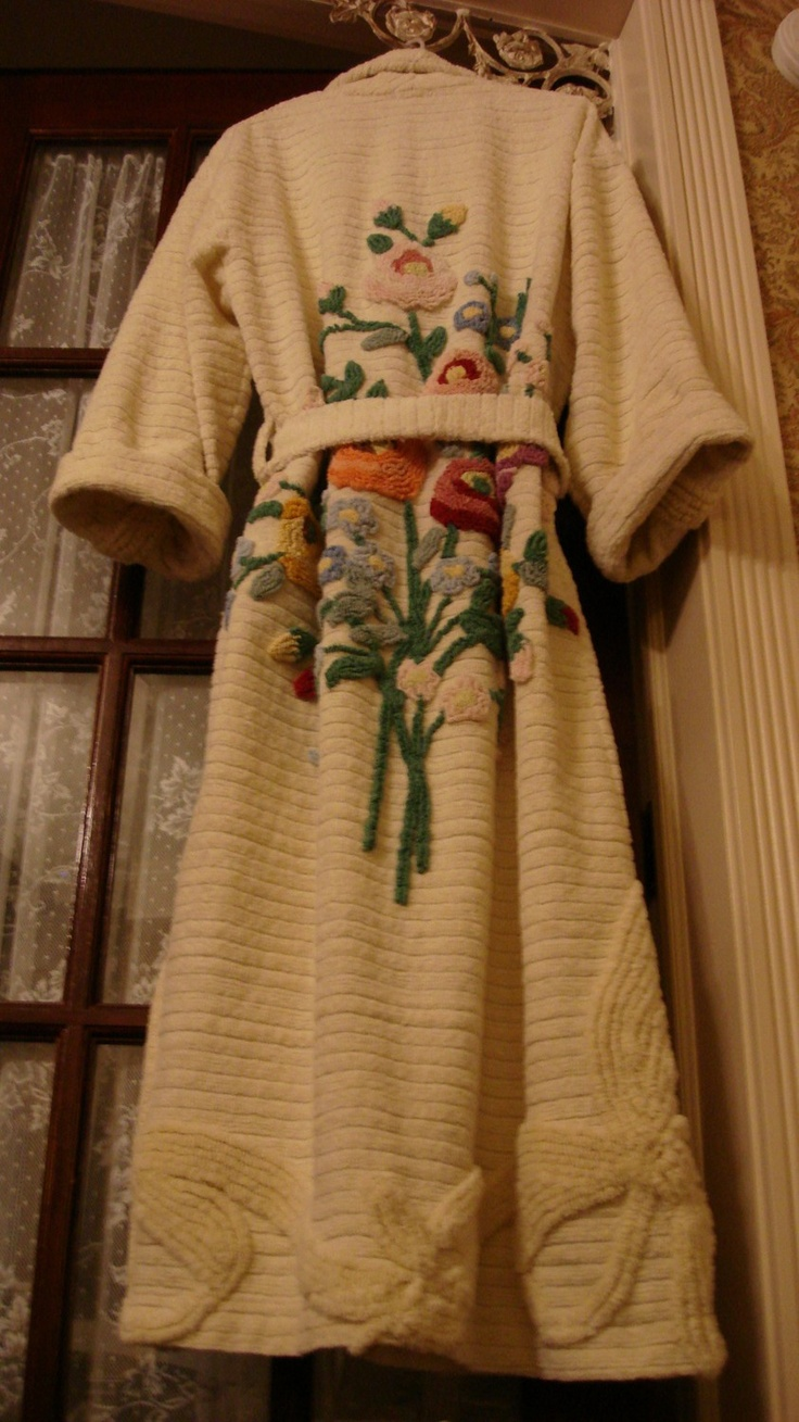 26 Best Chenille Robes Images On Pinterest Dress And