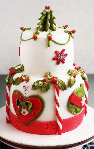 Christmas cake http://www.flickr.com/