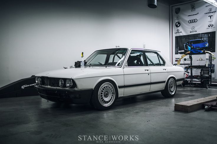 Paint is Dead - WrapWorks Gives the StanceWorks Group A Tribute E28 Build its Colors