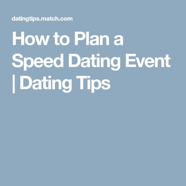 from Dangelo unique speed dating ideas