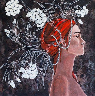 Designs of  A Thinking Mind by Suruchi  Jamkar on Artflute.com