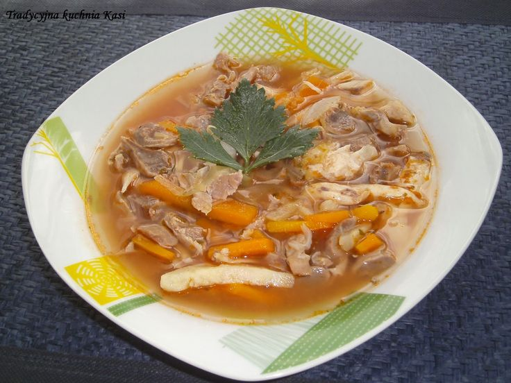 Tradycyjna kuchnia Kasi: Flaczki z żołądków drobiowych