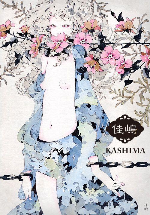 """""""ECHO"""" Kashima's Illustration Art"""