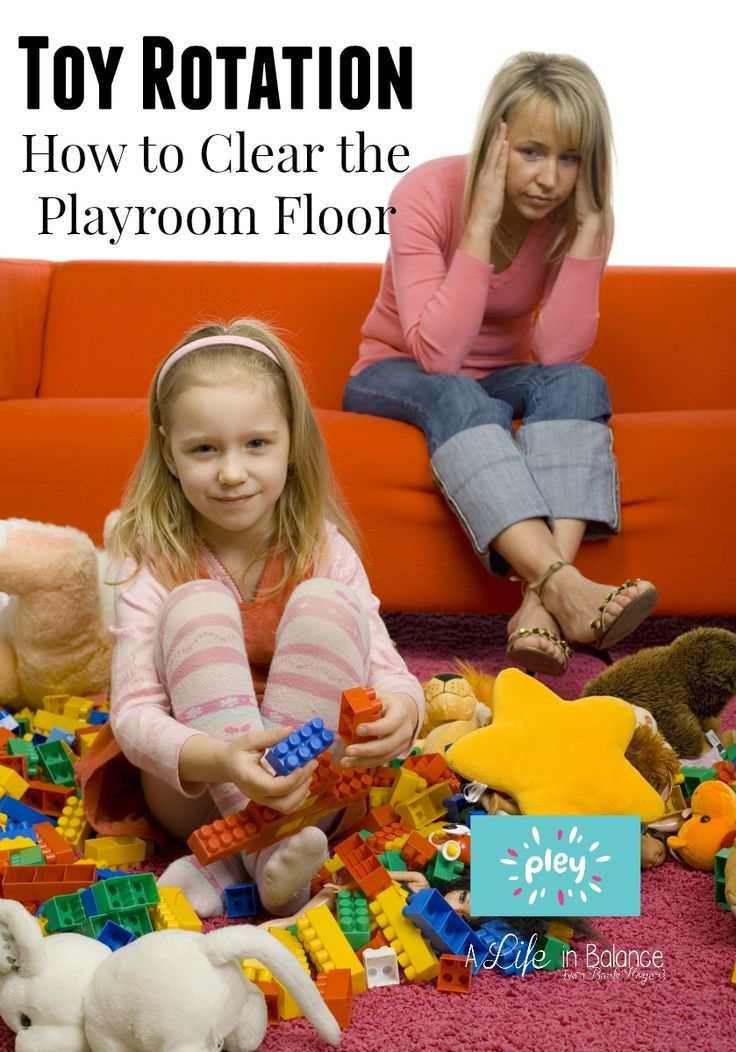 Pley Toy Rotation How to Clear the Playroom Floor