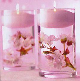 桜キャンドル
