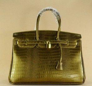 Дешевое Больший размер сумка сумки сумки 40 см крокодил золотой замок, Купить Качество Сумки с короткими ручками непосредственно из китайских фирмах-поставщиках:   Описание товара: * Европейская мода высокого класса темперамент сумочку.  Decency щедрые подар