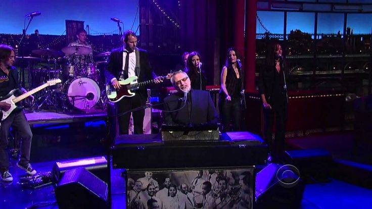Donald Fagen On Letterman