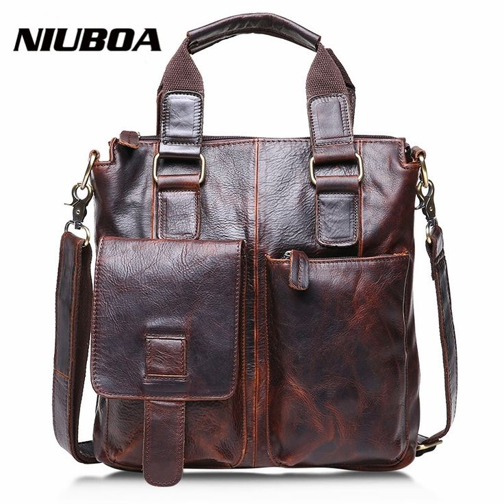 (55.00$)  Buy here - http://aiu5m.worlditems.win/all/product.php?id=32640545770 - Fashion Genuine Leather Men's Messenger Bags Crazy Horse Man Office Business Bag High Quality Travel Shoulder Handbag for Man