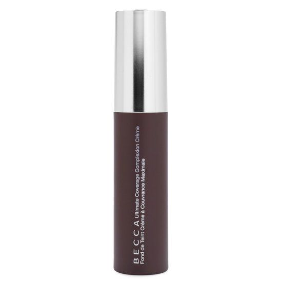Becca's Ultimate Coverage Complexion Crème is a full-coverage yet breathable foundation formulated with high concentrations of pigment and water.  30 ml / 1.01 fl oz