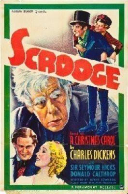 Scrooge Movie Poster Standup 4inx6in