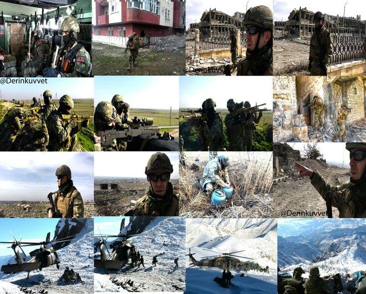 Dz.K.K,bağlı SAT, SAS Komandoları ve Amfibi Deniz Piyadeleri  Teröristle Mücadele Harekâtı ve Fırat Kalkanı Harekâtına katkı sağlamaktadır.