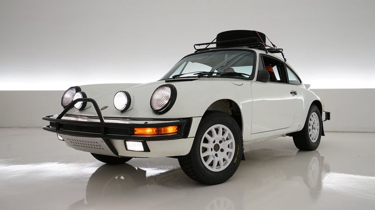 1985 Porsche 911 rally-style classic to be auctioned for good cause