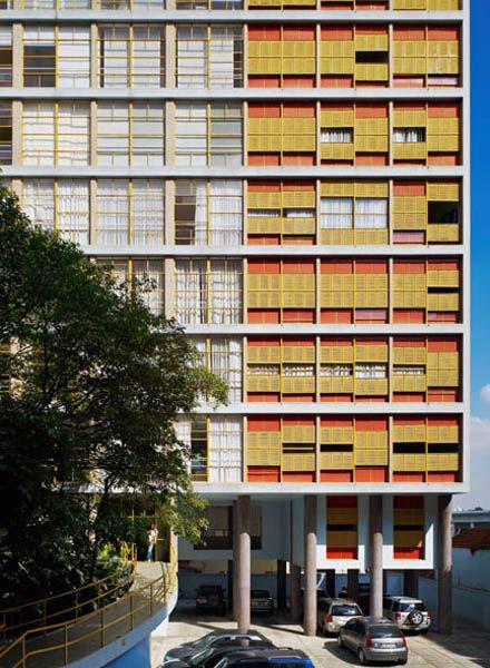 Edifício Louveira-São Paulo SP. Vilanova Artigas, 1946.