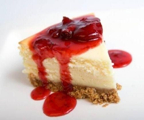 Tarta de queso (American Cheescake) para #Mycook http://www.mycook.es/receta/tarta-de-queso/