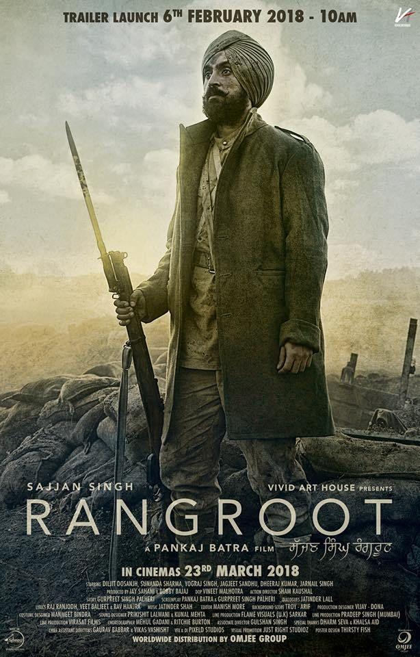 2018 - Sajjan Singh Rangroot (2018) con Diljit Dosanjh + Online 2bc9d39797eb01a436e9a2a18d1ffeb1